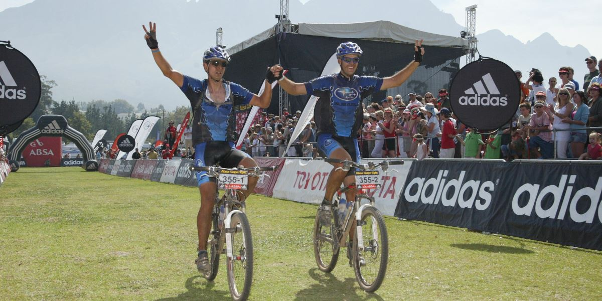 Cape Epic 2007 Finish
