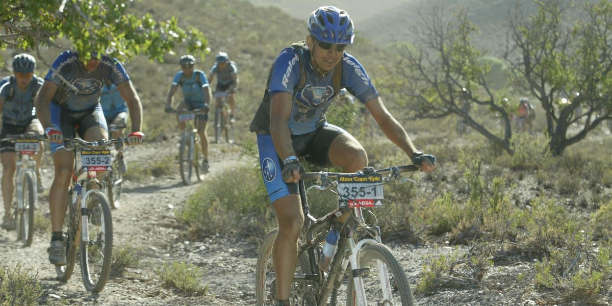 Cape Epic 2007 Riding