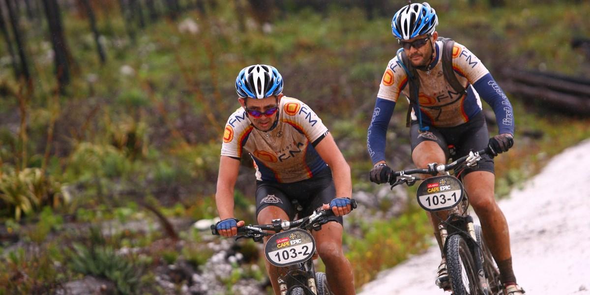 Cape Epic 2012 Rain